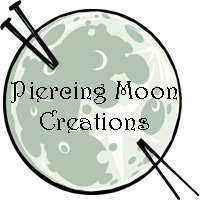 Piercing Moon Creation Site Logo